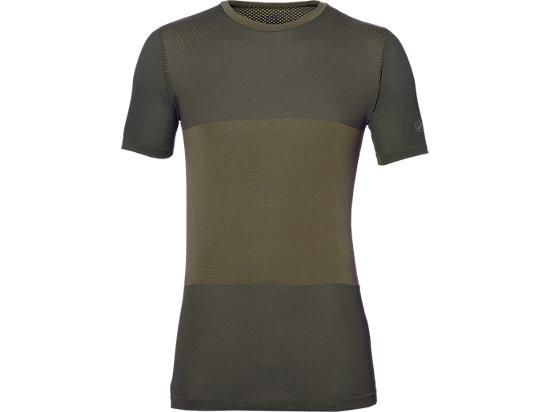 Camiseta de running sin costuras fuzeX para hombre, MARTINI OLIVE