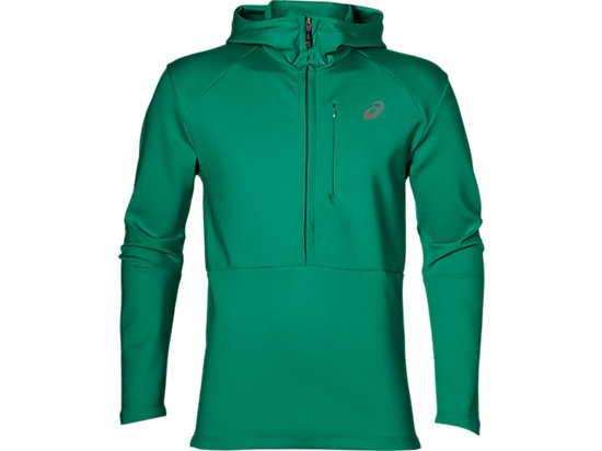 fuzeX LS HOODIE JUNGLE GREEN 3 FT