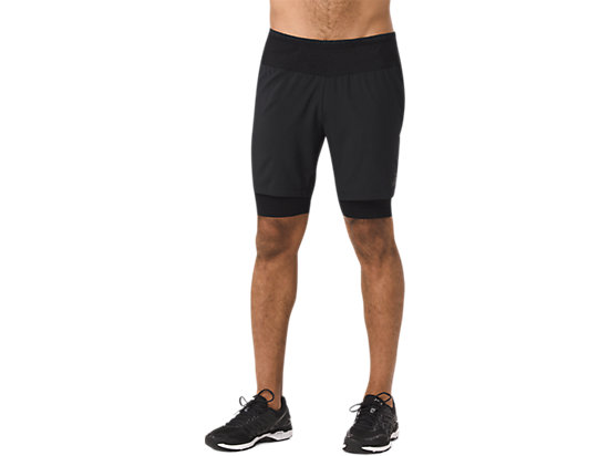 2-N-1 SHORT PERFORMANCE BLACK