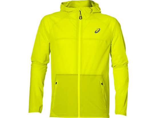 WATERPROOF JACKET SAFETY YELLOW 3
