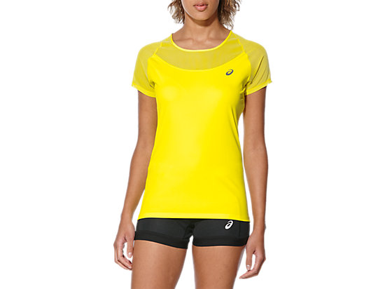 ELITE SS TEE BLAZING YELLOW 7