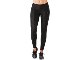 PANTALONI ADERENTI DA CORSA FINISH ADVANTAGE DA DONNA, Performance Black