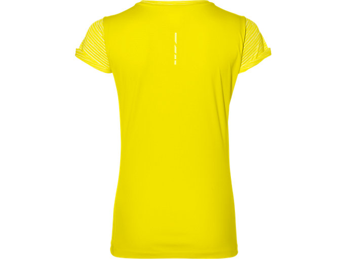 Back view of fuzeX SS TOP, BLAZING YELLOW