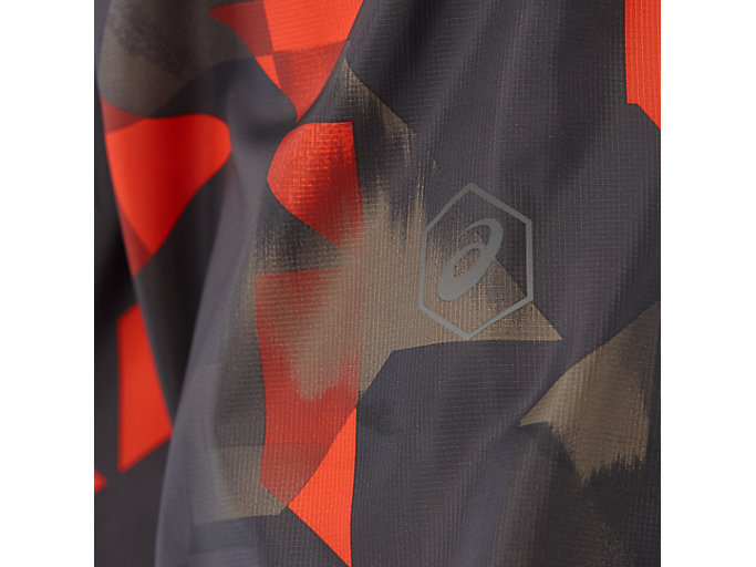 Alternative image view of fuzeX PACKABLE JKT, PAINT GEO RED CLAY