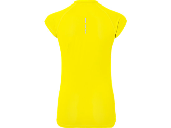 CAPSLEEVE TOP BLAZING YELLOW 15