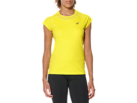 CAPSLEEVE TOP, Blazing Yellow