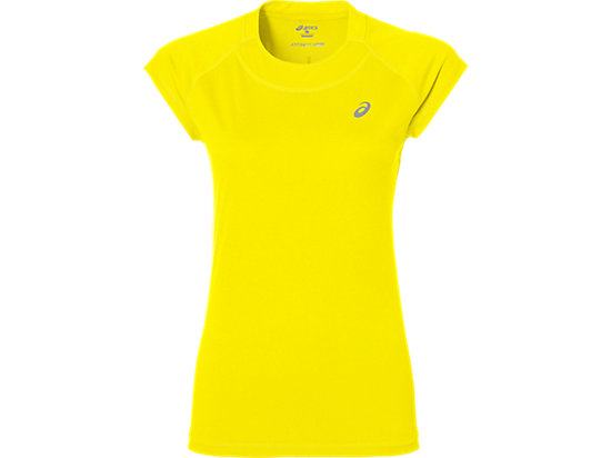 CAPSLEEVE TOP BLAZING YELLOW 3