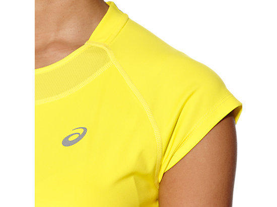 CAPSLEEVE TOP BLAZING YELLOW 23