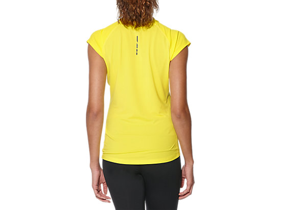 CAPSLEEVE TOP BLAZING YELLOW 19