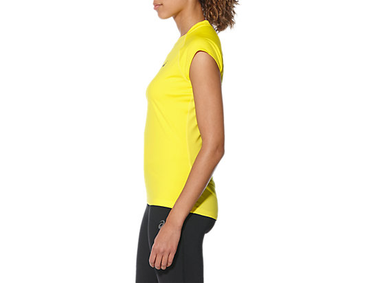 CAPSLEEVE TOP BLAZING YELLOW 11