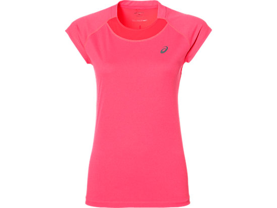 CAPSLEEVE TOP, Diva Pink Heather