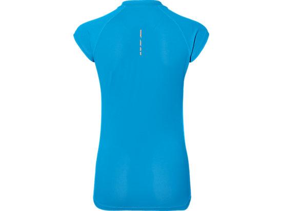 CAPSLEEVE TOP DIVA BLUE HEATHER 7