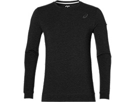 KNIT TRAIN CREW, Performance Black Heather