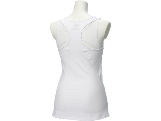 W ATHLETE TANK REAL WHITE