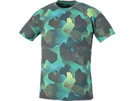 ランニングプリントTシャツ