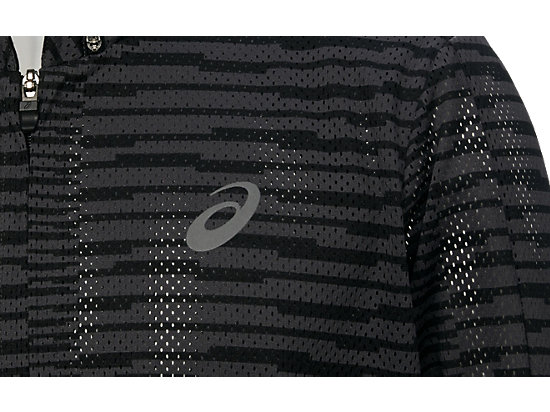 fuzeX MESH JACKET SQ DARK GREY