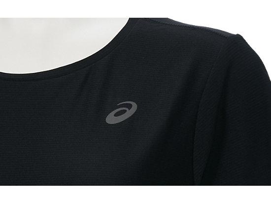 女慢跑T恤 BLACK