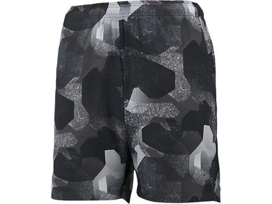 fuzeX 7吋印花短褲 BLACK