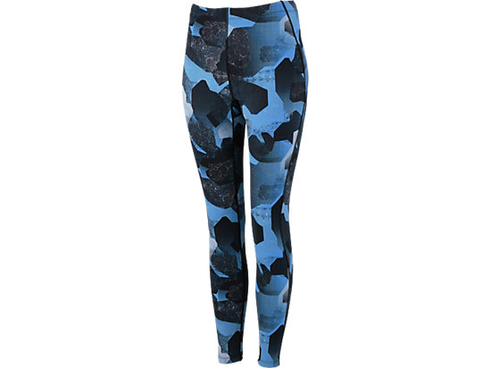 fuzeX GRAPHIC TIGHT Camo Geo Directoire Blue