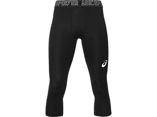 ¾ TRAINING BASE TIGHTS FÜR HERREN, Performance Black