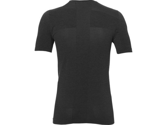 SEAMLESS TOP DARK GREY HEATHER 15 BK