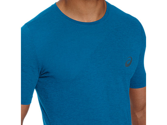 SEAMLESS TOP THUNDER BLUE HEATHER 23