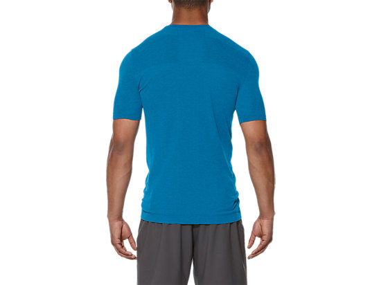 SEAMLESS TOP THUNDER BLUE HEATHER 19 BK