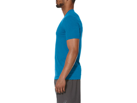SEAMLESS TOP THUNDER BLUE HEATHER 11 LT