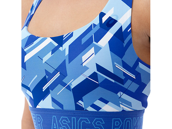 Alternative image view of BASE GPX BRA, BLUE PURPLE POWER PRINT
