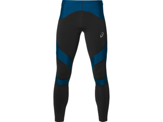 LEG BALANCE TIGHT PERFORMANCE BLACK/THUNDER BLUE 3