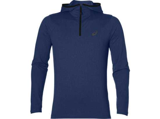 LS HOODIE INDIGO BLUE HEATHER 3 FT