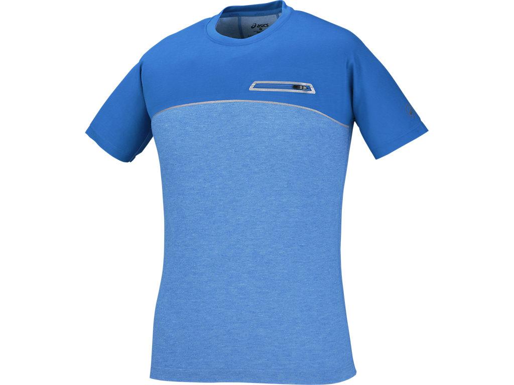 【ASICS/アシックス】 ランニングTシャツ ディレクトワールブルー メンズ_145351