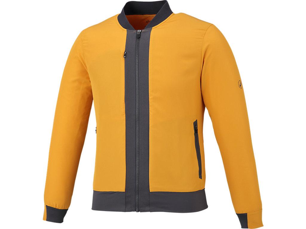 【ASICS/アシックス】 ランニングジャケット ゴールドアンバー メンズ_145353