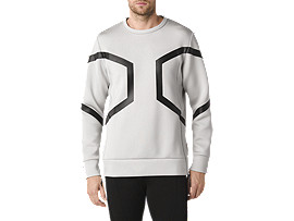 Hexagon Long Sleeve Crew Top