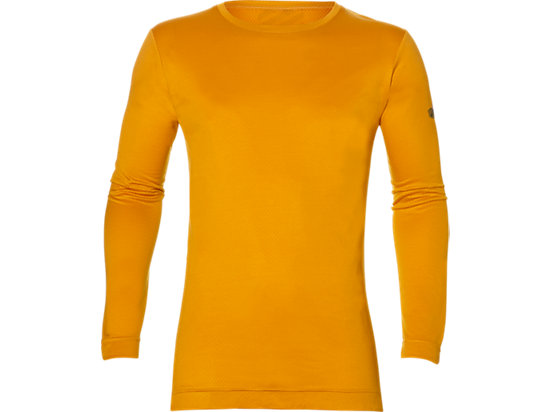 LONG-SLEEVED TOP, GOLDEN AMBER