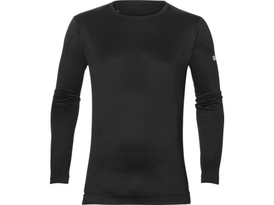 LONG-SLEEVED TOP, PERFORMANCE BLACK