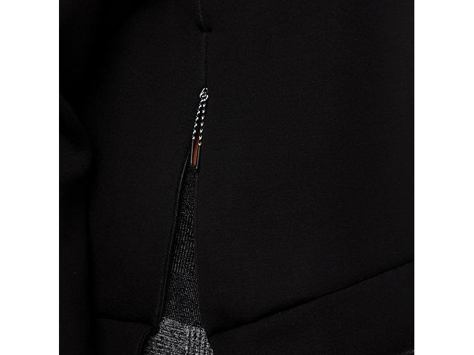 Alternative image view of CREW NECK PULLOVER, PERFORMANCE BLACK