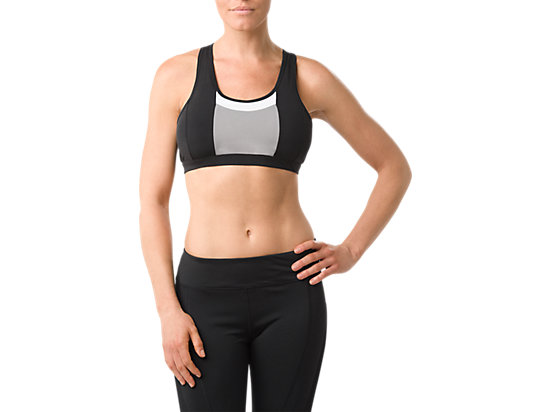 COLOR BLOCK BRA Performance BLACK