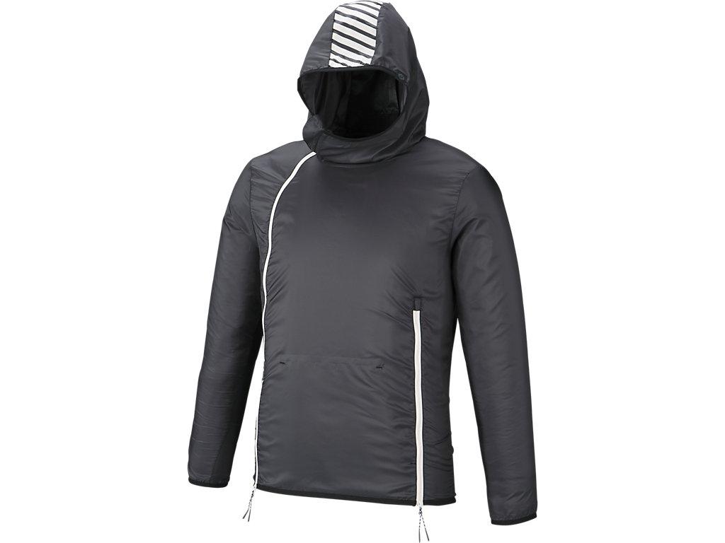 トレーニングパッカブルジャケット:ブラック