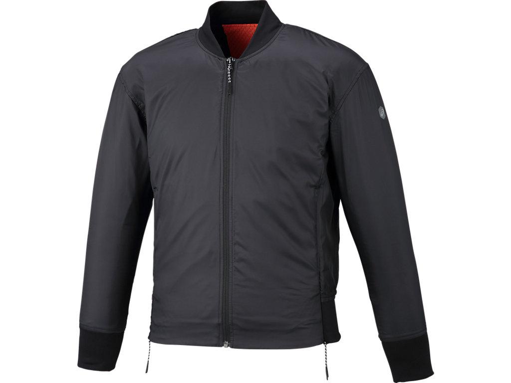トレーニングウインドジャケット:パフォーマンスブラック