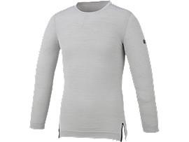 トレーニング起毛長袖シャツ