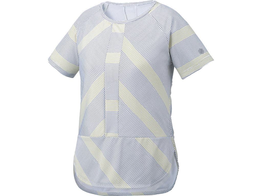 【ASICS/アシックス】 W'SトレーニングTシャツ カーボングレー レディース_146462