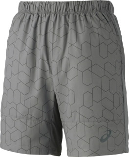 男式网球7英寸印花短裤
