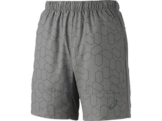 男式网球7英寸印花短裤 灰色印花