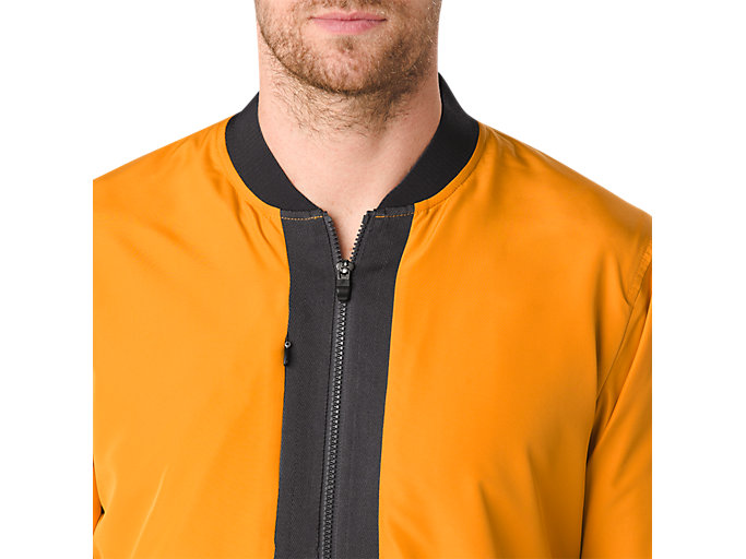 Alternative image view of FUZEX BOMBER JACKET, Golden Amber