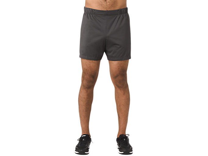 Front Top view of FUZEX WIND SHORT, Dark Grey