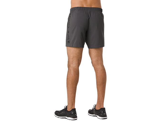 Alternative image view of FUZEX WIND SHORT, Dark Grey