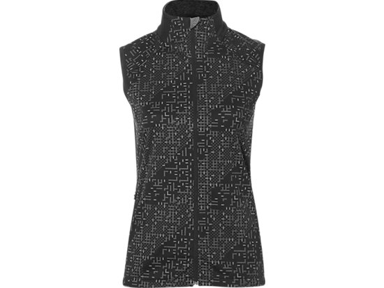 LITE-SHOW VEST, Lite Stripe Performance Black