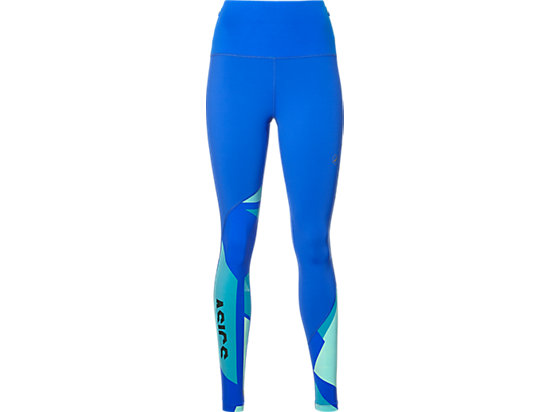 FUZEX HIGHWAIST TIGHT, Blue Purple/Shatter Arctic Aqua