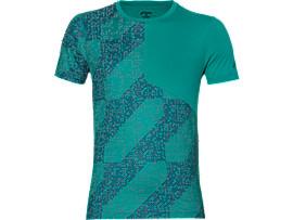 Camiseta de running de manga corta Lite-show para hombre, Lite Stripe Lapis